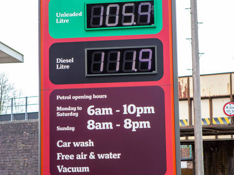 When was the last time petrol was this price?