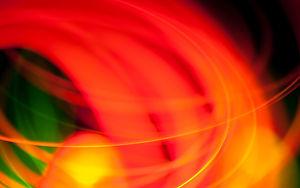 Arte anaranjado claro rojo