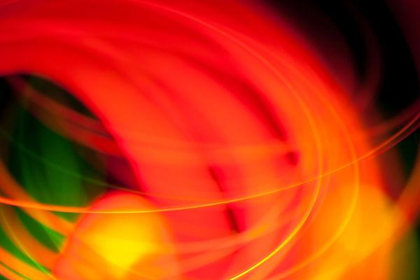 Красный Оранжевый свет Art