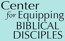 Center for Equipping Disciples logo text