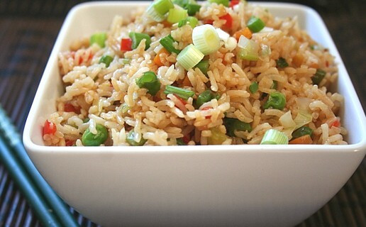 QUICK & DELICIOUS VEG FRIED RICE
