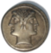 anonymous silver issue of the Roman Republic during Hannibal's invasion of Italy in the Second Punic War