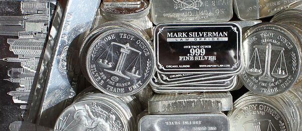 .999 fine silver bullion bars and rounds