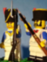 Musket soldiers of Napoleon's Lego Army