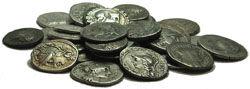 silver denarii of the Roman Republic (211-49 B.C.)