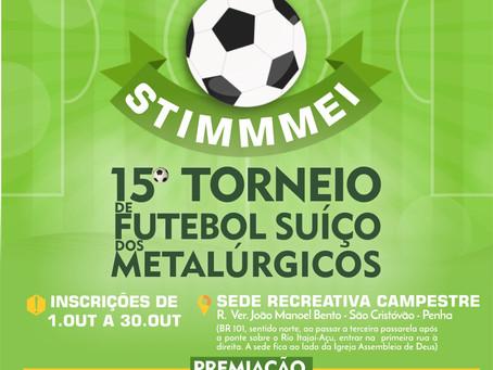 15º Torneio de Futebol Suíço dos Metalúrgicos