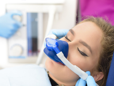 Óxido nitroso minimiza estresse no atendimento