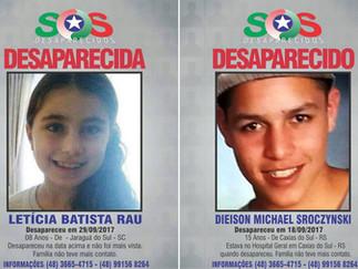 Sechobar lança campanha para divulgar crianças desaparecidas