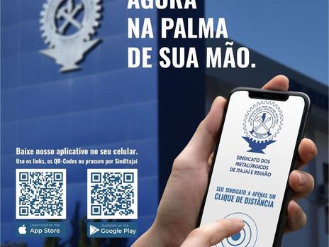 Aplicativo Sindicato dos Metalúrgicos de Itajaí e Região.
