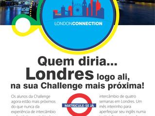 Challenge School lança programa de intercâmbio no Reino Unido