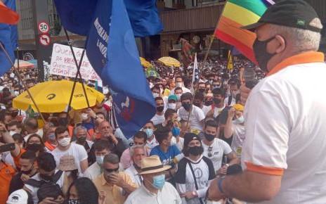 "Miguel Torres participa do ""Fora Bolsonaro"" no domingo, 12, na Avenida Paulista"