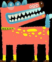 cão dos desenhos animados