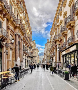 Palermo Via Maqueda Urban Promenade