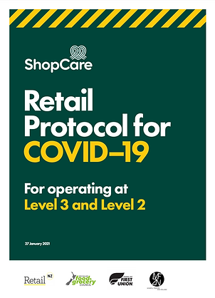 COVID-19, Retail Protocol, ShopCare, Health & Safety, Health Safety Wellbeing, Safety leadership, Industry Group, Sector Group, Workplace safety, Healthy workplace, Retail, Retailers,