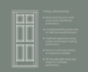 Timber Door specification by Totali Solutions