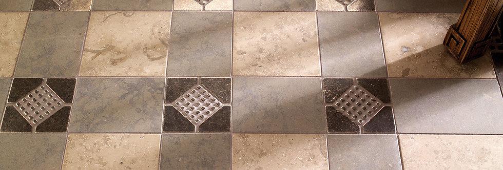 Waffles, Morse Code Border and Offset Tiles