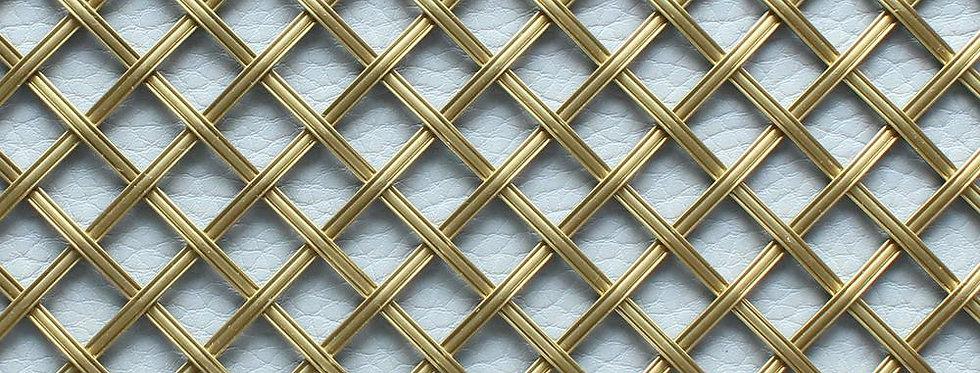 Diamond and Square Interwoven Grilles
