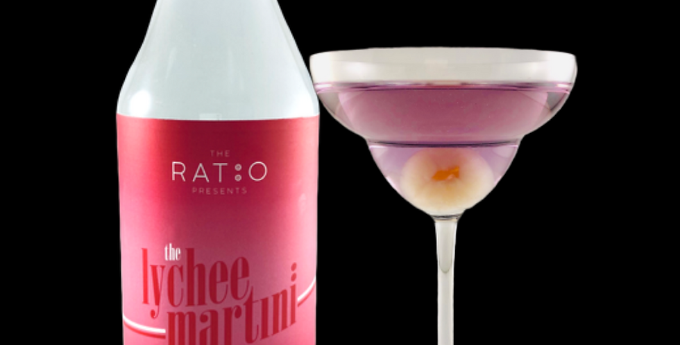 The Lychee Martini