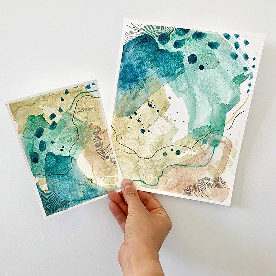 2 Color Studies - Day 37 & 38