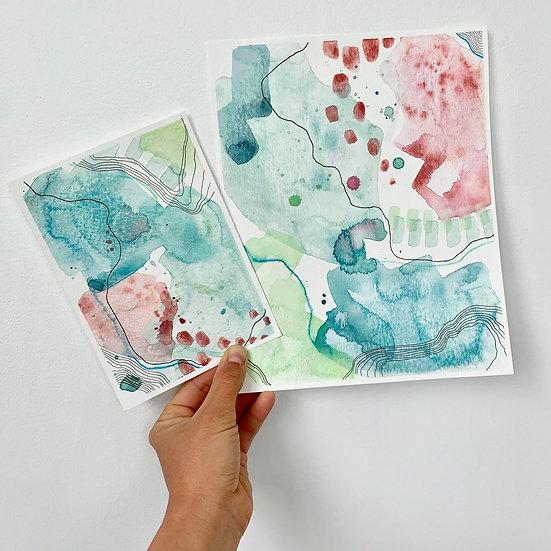 2 Color Studies - Day 41 & 42