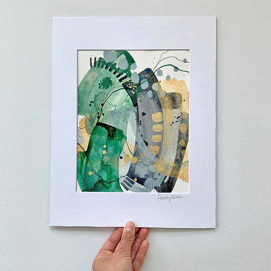 Original Acrylic & Ink on Paper