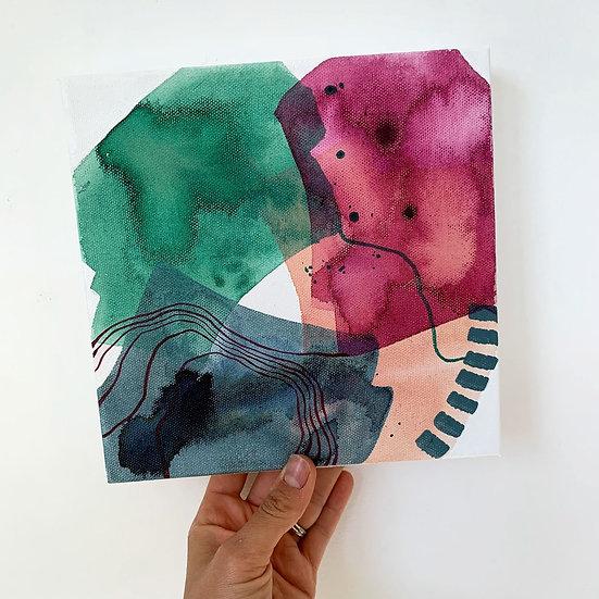 "Color Study 1 / 8""x8"""