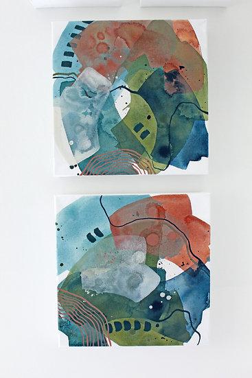 2 Color Studies - Day 80 & 81