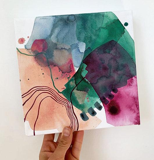 "Color Study 3 / 8""x8"""