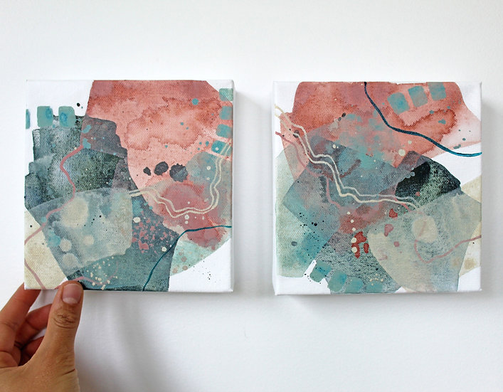 2 Color Studies - Day 7 & 8