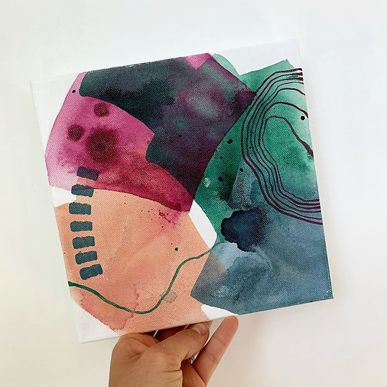 "Color Study 2 / 8""x8"""