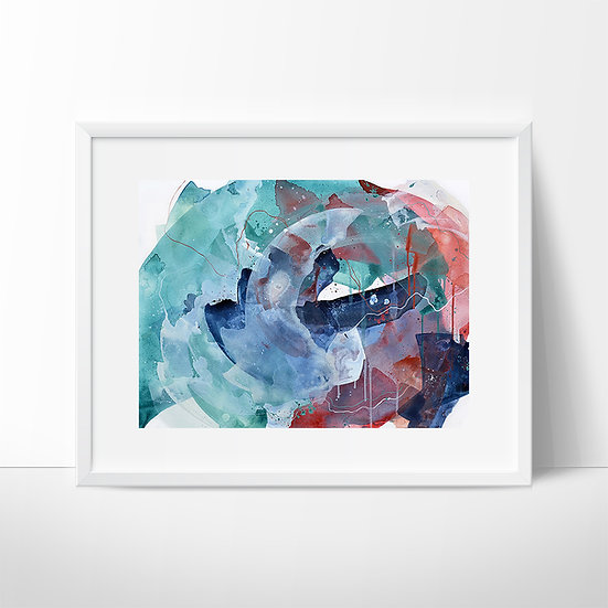 "Giclee PRINT of ""Full Circle"""