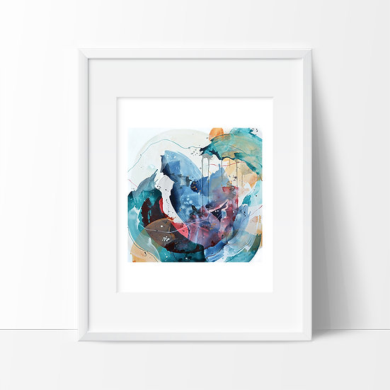 "Giclee PRINT of ""Head Under Water"""