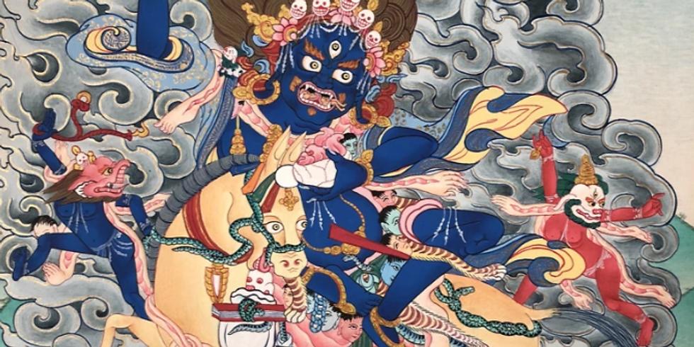 팔덴라모 수호신 관정식 (Palden Lhamo Initiation)