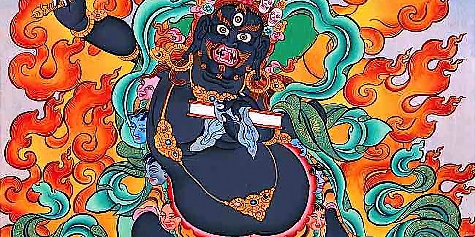 부처님의 흑색문수 관정식 (Black Manjushri Initiation)