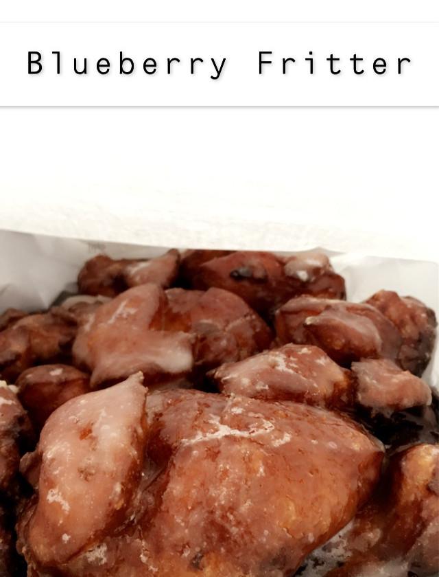 Blueberry Fritter