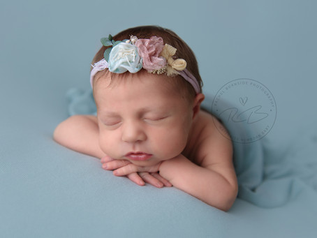 Newborn Session for 10 day old Baby H and Family