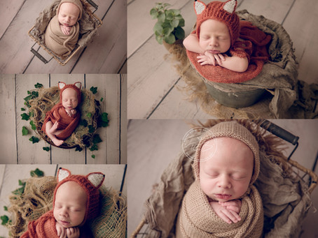 Newborn Photography Session for Baby B with Rachel Burnside Photography, Wiltshire