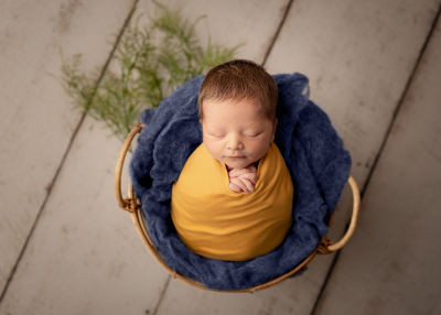 Swaddled Newborn Mini Session for Baby S