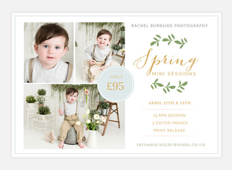 Studio Spring Mini Sessions 2019
