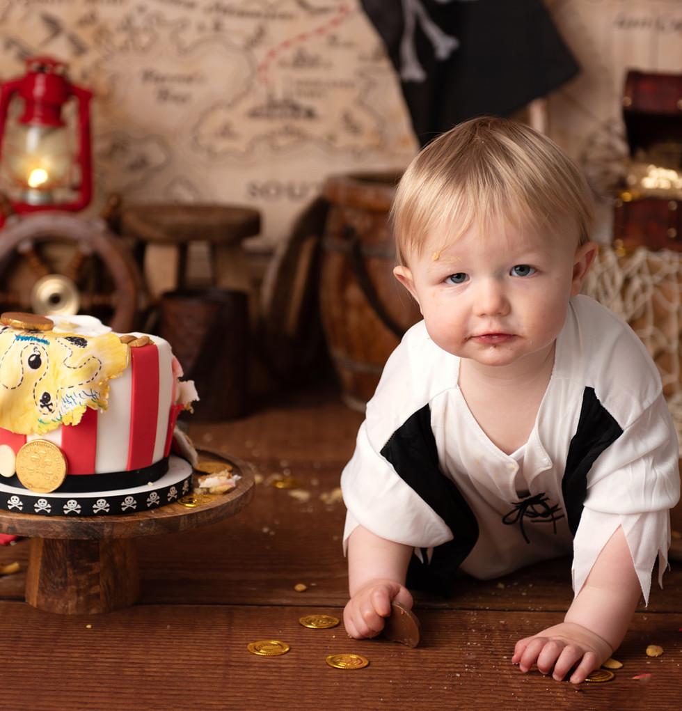 Wiltshire cake smash photographer