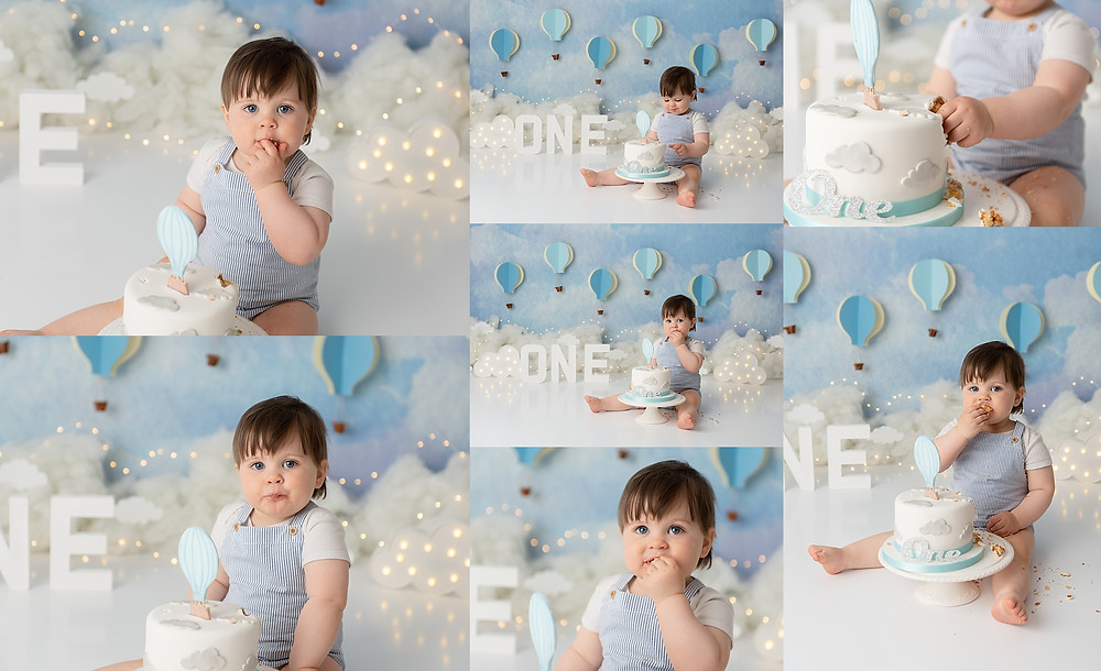 Specialist Cake Smash Photographer in Wiltshire