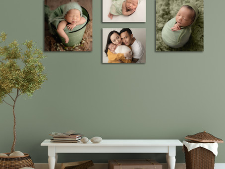 Displaying your family photographs