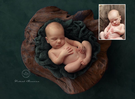 Virtual Newborn Sessions: capture once in a lifetime images of your baby born during lock-down