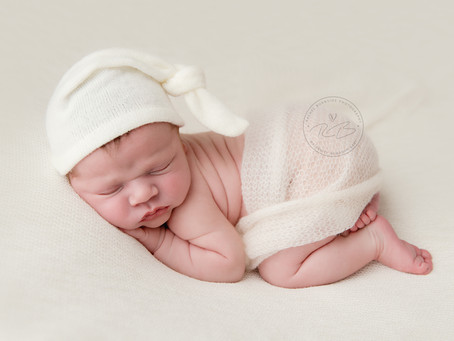Newborn Photography Session for Baby E and family