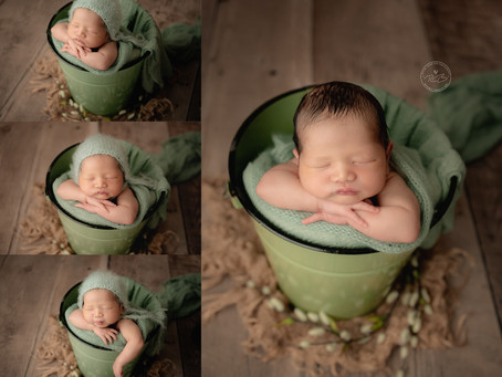 Newborn Session for Baby M