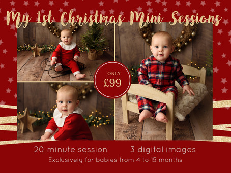 Baby's 1st Christmas Mini Sessions 2019