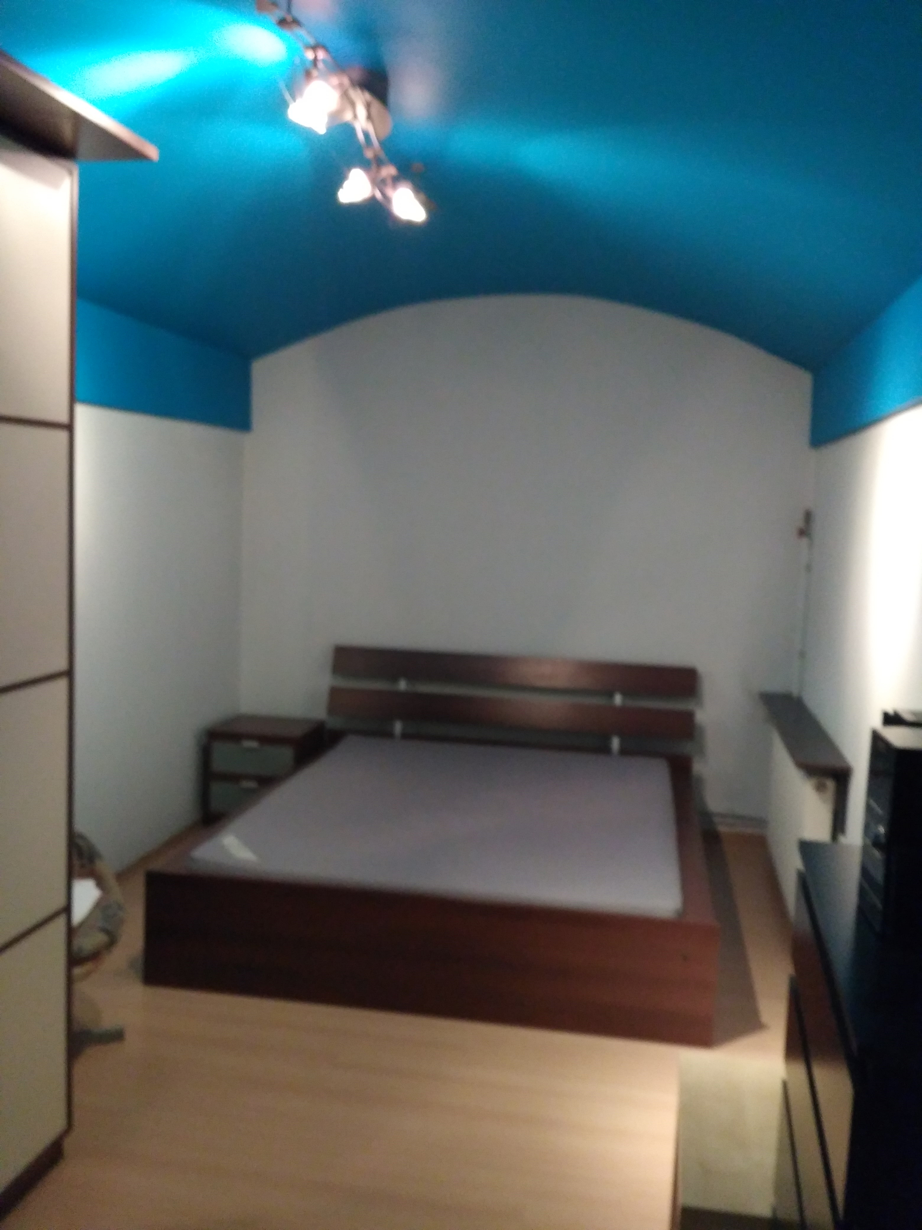 sypialnia na 2 poziomie