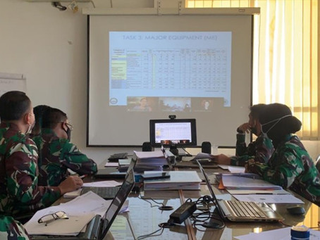 JLO CONDUCTS VIRTUAL UNITED NATIONS LOGISTICS COURSE IN INDONESIA