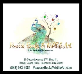 Peacock Books & Wildlife Art