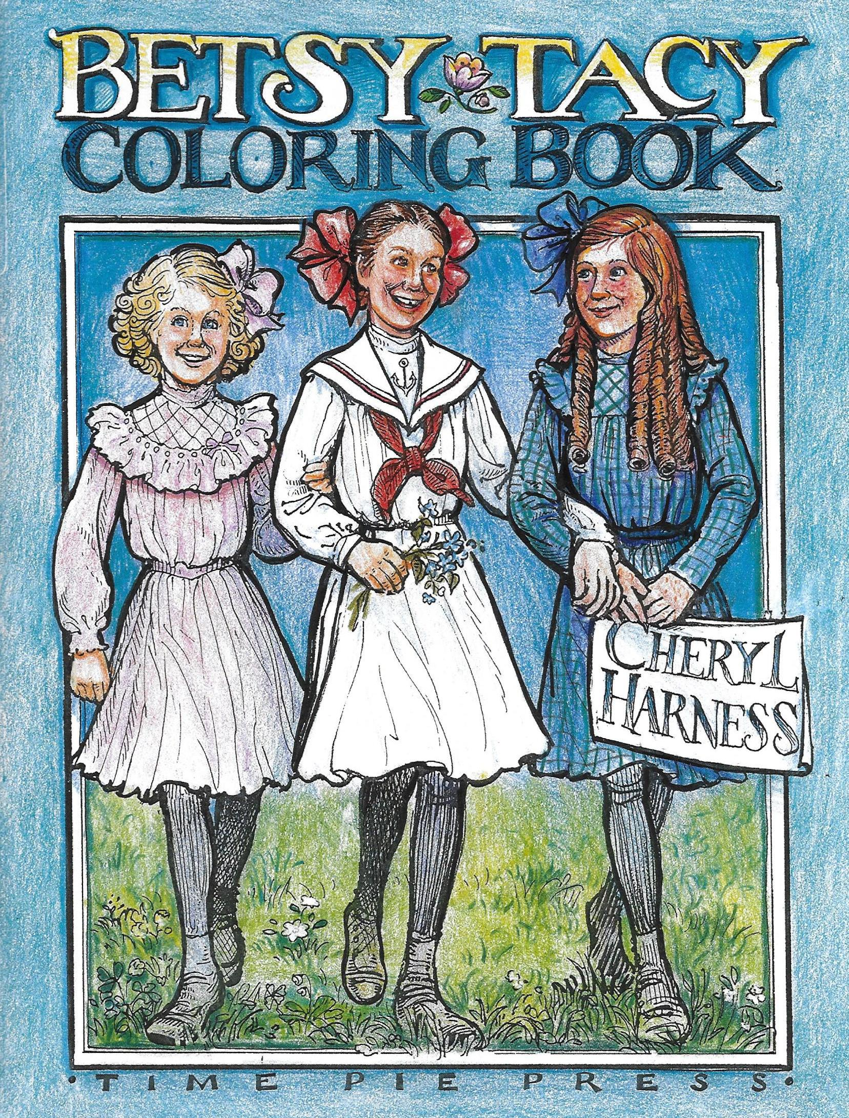 Betsy-Tacy Coloring Book